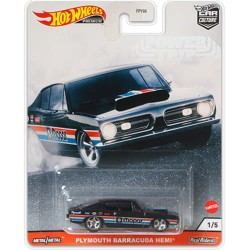 Hot Wheels 1:64 Plymouth Barracuda Hemi