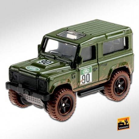 Hot Wheels 1:64 Land Rover Defender 90
