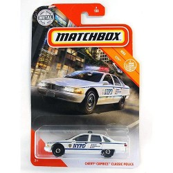 Matchbox 1:64 Chevy Caprice Classic Police