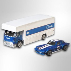 Hot Wheels 1:64 Nissan Skyline GT-R (BNR34) + Aero Lift (Team Transporter 12)
