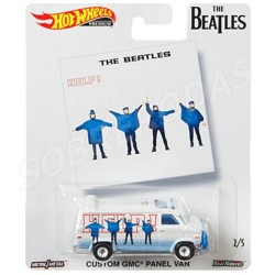 Hot Wheels 1:64 The Beatles Custom GMC Panel Van