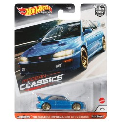 Hot Wheels 1:64 Car Culture: Modern Classics '98 Subaru Impreza 22B STi-Version