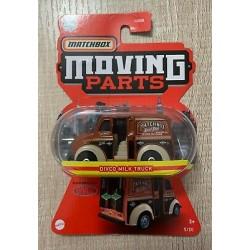 Matchbox 1:64 Moving Parts Divco Milk Truck