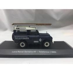 Magazine Models 1:43 Land Rover Santana 88 - Telefónica