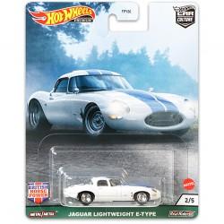 Hot Wheels 1:64 Jaguar Lightweight E-Type