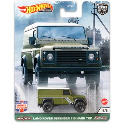 Hot Wheels 1:64 Land Rover Defender 110 Hard Top