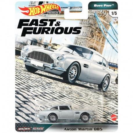 Hot Wheels 1:64 Aston Martin DB5 (Fast & Furious Premium: Euro Fast)