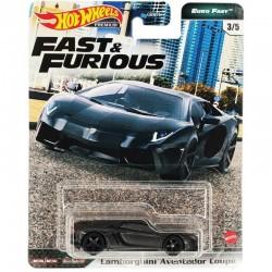 Hot Wheels 1:64 Lamborghini Aventador Coupé (Fast & Furious Premium: Euro Fast)