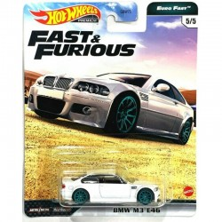 Hot Wheels 1:64 BMW M3 E46 (Fast & Furious Premium: Euro Fast)