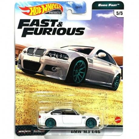 Hot Wheels 1:64 BMW M3 E46 (Fast & Furious Premium: Euro Fast)