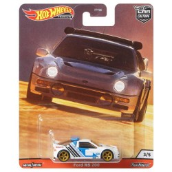 Hot Wheels 1:64 Ford RS 200 (Car Culture: Thrill Climbers)