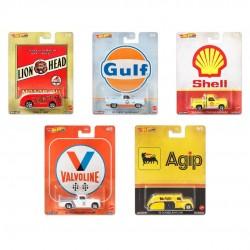 Hot Wheels 1:64 Car Culture: Vintage Oil (Set)