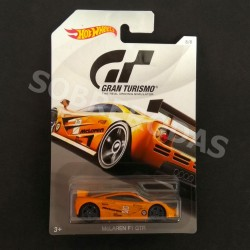 Hot Wheels 1:64 McLaren	F1 GTR (Gran Turismo 2018 Series)