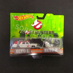 Hot Wheels 1:64 Ghostbusters Ecto-1 & Ecto-2 2-Pack