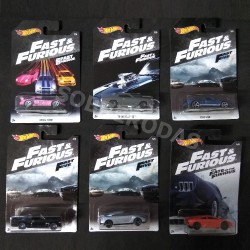 Hot Wheels 1:64 Fast & Furious 2018 Series (Set)