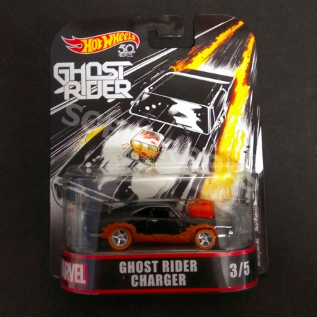 Hot Wheels 1:64 Ghost Rider Charger