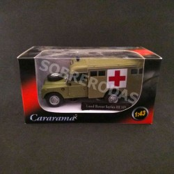 Cararama 1:43 Land Rover Series III 109 (Army Ambulance)