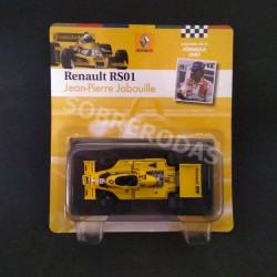 editorialSOL90 1:43 Renault RS01 - Jean-Pierre Jabouille