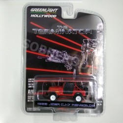 Greenlight 1:64 1983 Jeep CJ-7 Renegade (The Terminator)