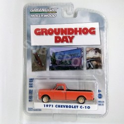 Greenlight 1:64 1971 Chevrolet C-10 (Groundhog Day)