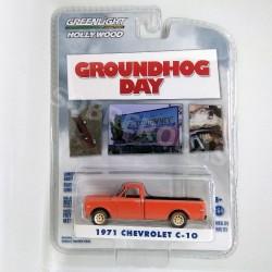 Greenlight 1:64 1971 Chevrolet C-10 (Groundhog Day)