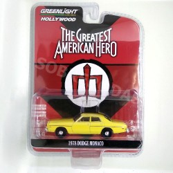 Greenlight 1:64 1978 Dodge Monaco (The Greatest American Hero)