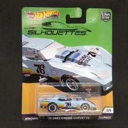Hot Wheels 1:64 '76 Greenwood Corvette