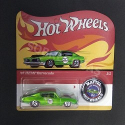 Hot Wheels 1:64 '67 HEMI Barracuda