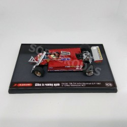 Brumm 1:43 Ferrari 126 CK turbo (Monteral G.P. 1981) 3º Giles Villeneuve No27