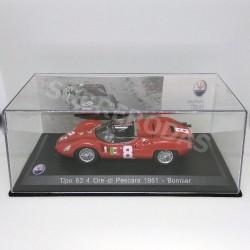 IXO Models 1:43 1961 Maserati Tipo 63 4 Ore di Pescara